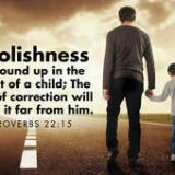 Loving parents use the Rod of Correction to Keep their children on the Way of Righteousness